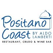 This is the restaurant logo for Positano Coast by Aldo Lamberti