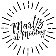 This is the restaurant logo for Marti's at Midday
