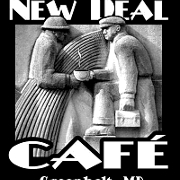 This is the restaurant logo for New Deal Cafe