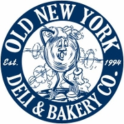 This is the restaurant logo for Old New York Deli & Bakery Co