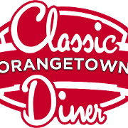 This is the restaurant logo for Orangetown Classic Diner