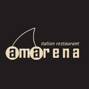 This is the restaurant logo for Amarena