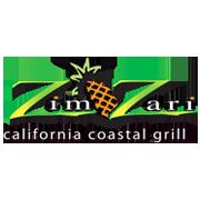 This is the restaurant logo for ZimZari