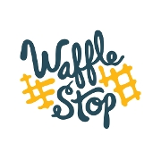 This is the restaurant logo for WAFFLE STOP