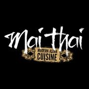 This is the restaurant logo for Mai Thai Restaurant & Bar