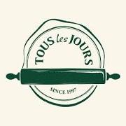 This is the restaurant logo for TOUS les JOURS Bakery + Café