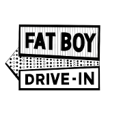This is the restaurant logo for Fat Boy Drive-In