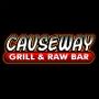 Restaurant logo for Causeway Grill & Raw Bar