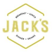 This is the restaurant logo for Jack's Restaurant & Bar