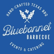 This is the restaurant logo for Bluebonnet BBQ & Event Center