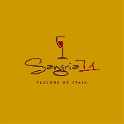 This is the restaurant logo for Sangria 71 - Commack