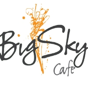 This is the restaurant logo for Big Sky Cafe