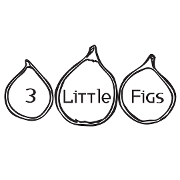 This is the restaurant logo for 3 Little Figs