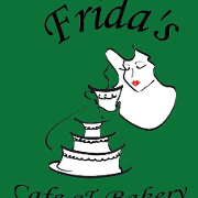 This is the restaurant logo for Frida's Cafe and Bakery