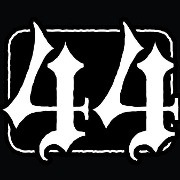 This is the restaurant logo for 44 Stone Public House.