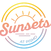 This is the restaurant logo for Sunsets at Pismo