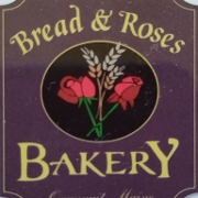This is the restaurant logo for Bread and Roses Bakery