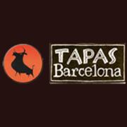 This is the restaurant logo for Tapas Barcelona