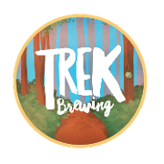 This is the restaurant logo for Trek Brewing Company
