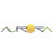 This is the restaurant logo for Aurora