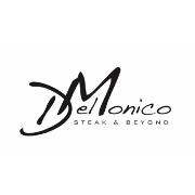 This is the restaurant logo for DelMonico Restaurant