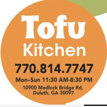 Tofu Kitchen Johns Creek