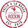 Restaurant logo for The Rockin' Chicken