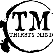This is the restaurant logo for Thirsty Mind