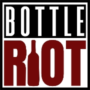This is the restaurant logo for Bottle Riot