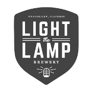 This is the restaurant logo for Light the Lamp Brewery
