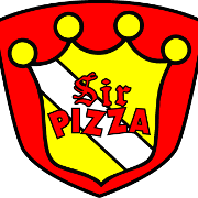 This is the restaurant logo for Sir Pizza - Pine Twp.
