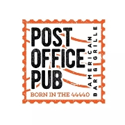 This is the restaurant logo for Post Office Pub