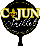 This is the restaurant logo for Cajun Skillet