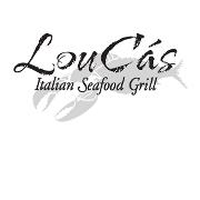 This is the restaurant logo for LouCas Restaurant
