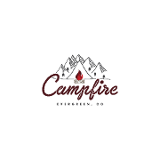 This is the restaurant logo for Campfire Evergreen