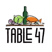 This is the restaurant logo for Ocean5 & Table 47