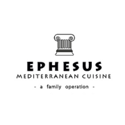 This is the restaurant logo for Ephesus