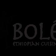 This is the restaurant logo for Bolé Ethiopian Cuisine