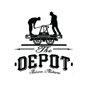This is the restaurant logo for The Depot