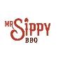 Restaurant logo for MrSippy BBQ