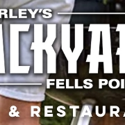 This is the restaurant logo for Barley's Backyard Fell's Point