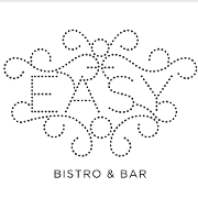 This is the restaurant logo for Easy Bistro & Bar