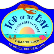 This is the restaurant logo for Top Of The Bay Restaurant