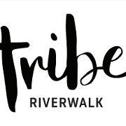 This is the restaurant logo for Tribe at Riverwalk