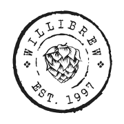 This is the restaurant logo for Willimantic Brewing Co.