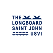This is the restaurant logo for The Longboard [St. John]
