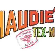 This is the restaurant logo for Maudie's Café