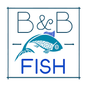 This is the restaurant logo for B & B Fish
