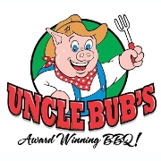 This is the restaurant logo for Uncle Bub's BBQ & Catering