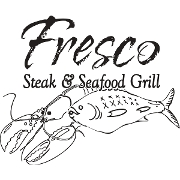 This is the restaurant logo for Fresco Steak & Seafood Grill